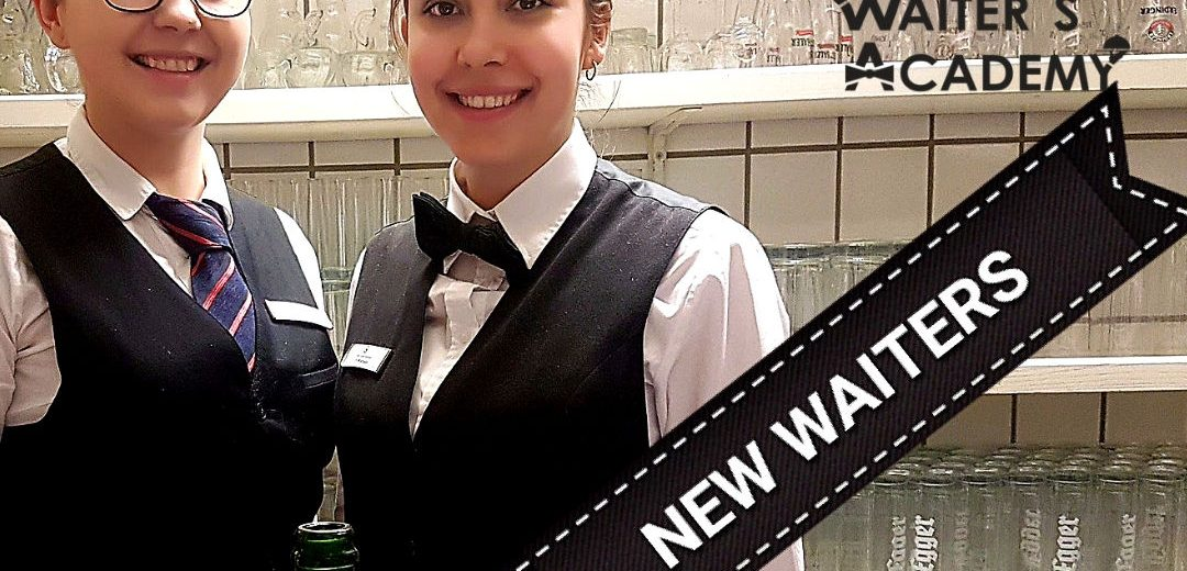 How to train new waiters