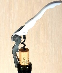 how to open a wine bottle with a wine opener